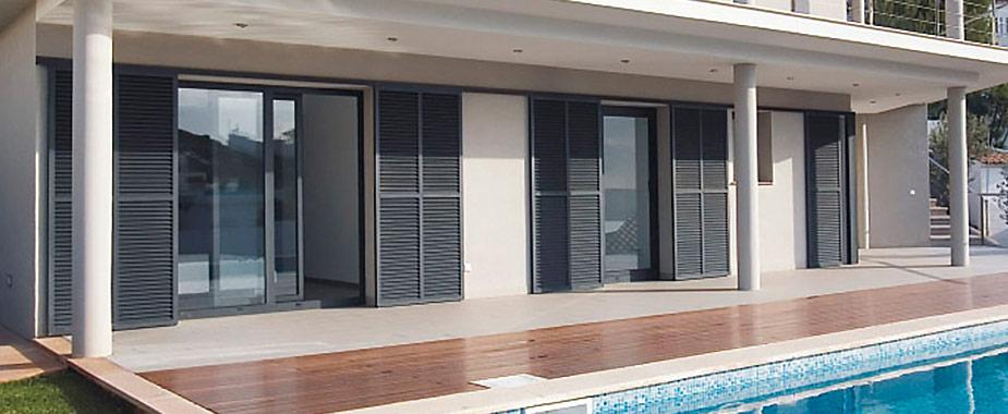 Portadas exteriores para janelas